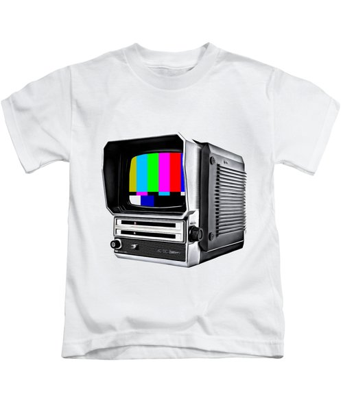 Kids T-Shirt featuring the photograph Off Air Tee by Edward Fielding