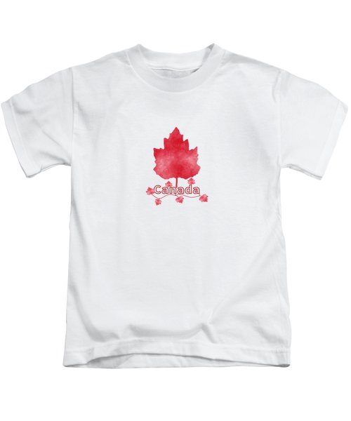 Oh Canada Kids T-Shirt by Kathleen Sartoris