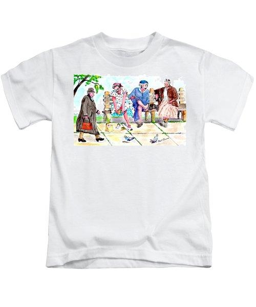 Oh My Aching Feet Kids T-Shirt