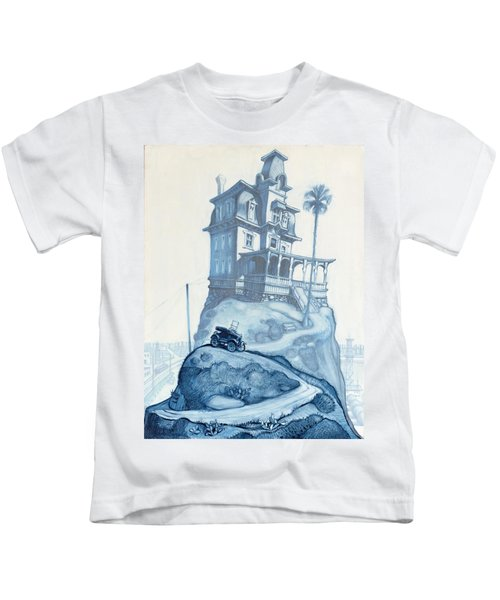 Oil Fields And Orchards Kids T-Shirt