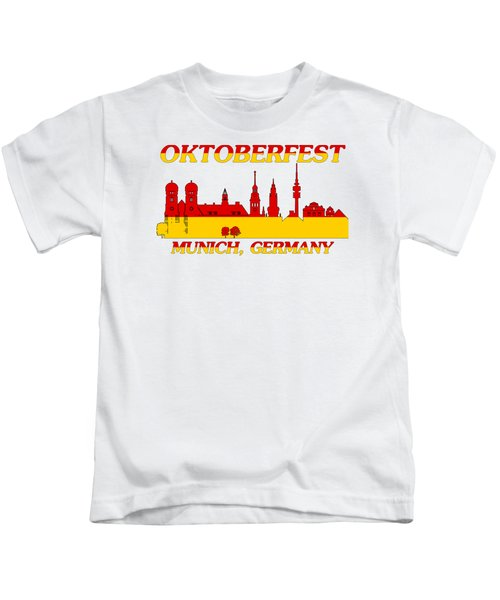 Oktoberfest Munich Germany Kids T-Shirt