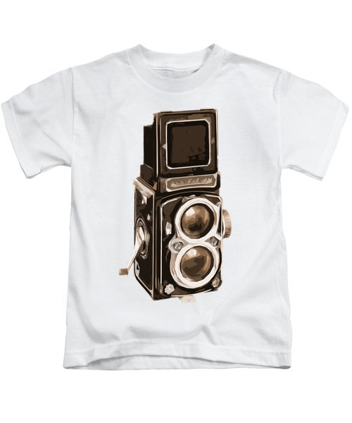 Old Camera Tee Kids T-Shirt