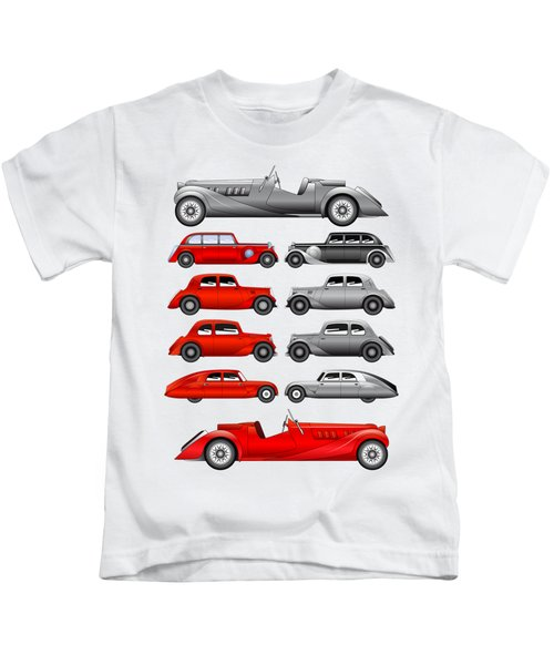 Old Cars Kids T-Shirt