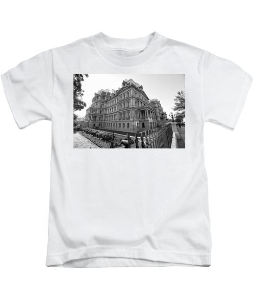 Old Executive Office Building Kids T-Shirt