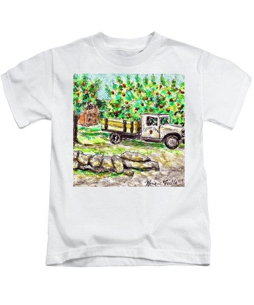 Old Farming Truck Kids T-Shirt