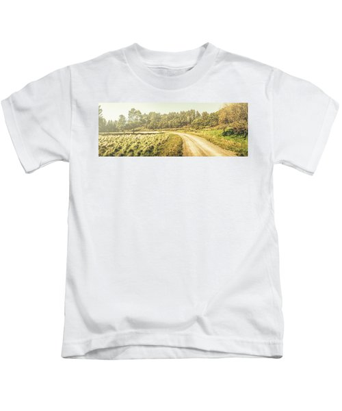 Old-fashioned Country Lane Kids T-Shirt