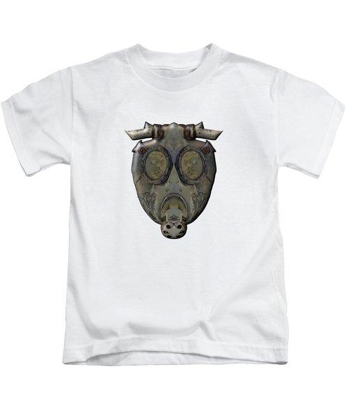 Old Gas Mask Kids T-Shirt