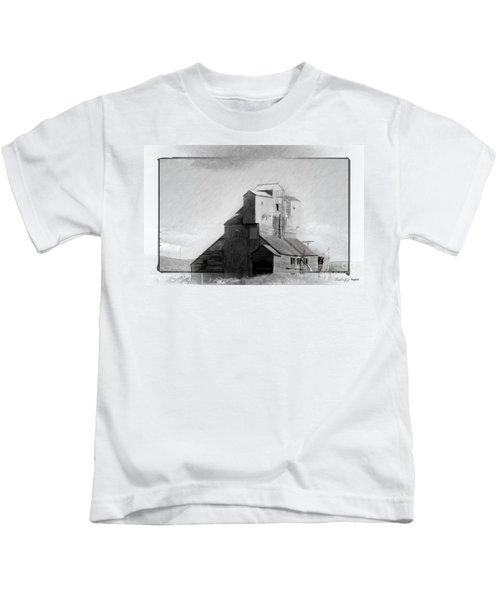Old Grain Elevator Kids T-Shirt
