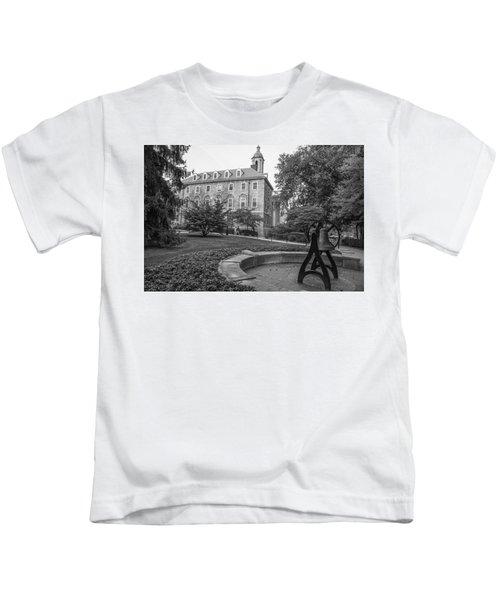 4b3ed10a0e9cb4 Old Main Penn State University Kids T-Shirt Old Main Penn State University. John  McGraw