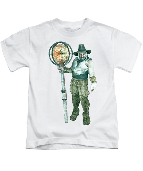 Old Mountain Giant Kids T-Shirt