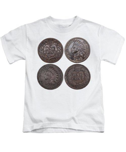 Old Pennies 2016-1 Kids T-Shirt