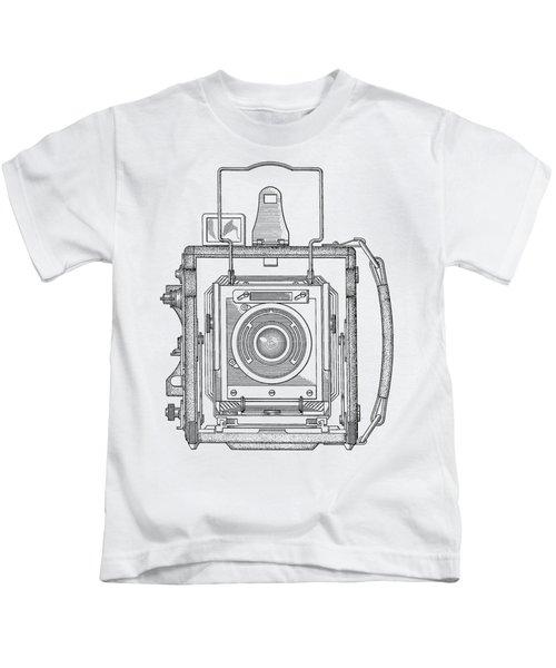 Old Press Camera T-shirt Kids T-Shirt