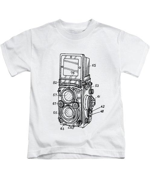 Old Rollie Vintage Camera T-shirt Kids T-Shirt