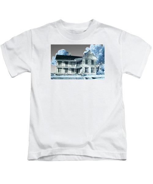 Old Shull House In 642 Kids T-Shirt