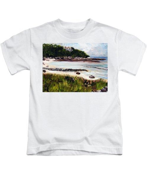 Old Silver Beach Falmouth Kids T-Shirt