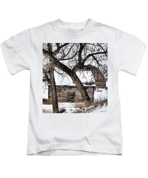 Old Ulm Barn Kids T-Shirt