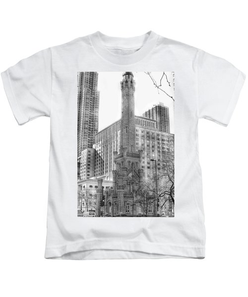 Old Water Tower - Chicago Kids T-Shirt