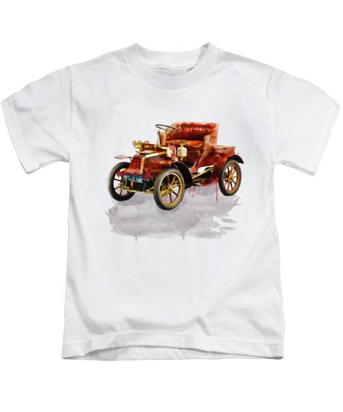 Oldtimer Car Watercolor Kids T-Shirt