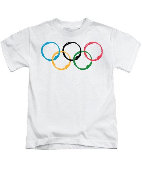 Olympic Ensos Kids T-Shirt