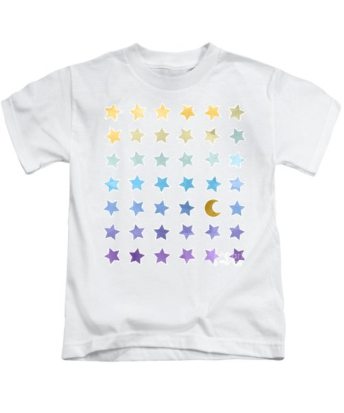 Ombre Cosmos Kids T-Shirt