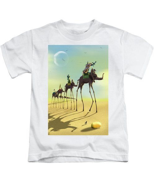 On The Move 2 Kids T-Shirt by Mike McGlothlen