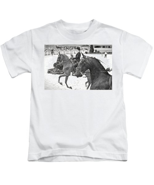 On The Outside Charcoal Kids T-Shirt