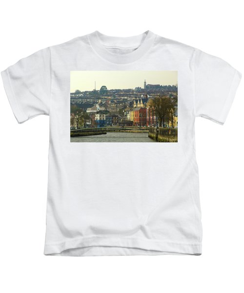 On The River Lee, Cork Ireland Kids T-Shirt