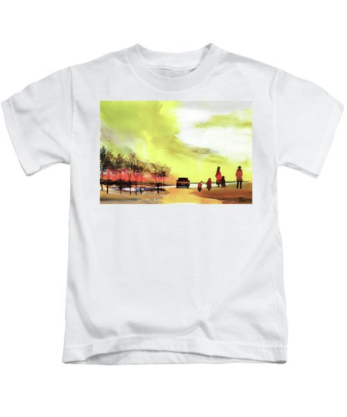 On Vacation Kids T-Shirt