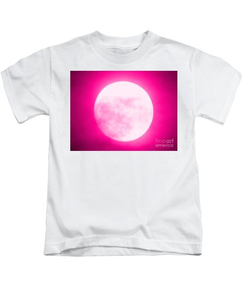 Once In A Pink Moon Kids T-Shirt