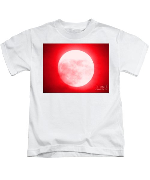 Once In A Red Moon  Kids T-Shirt