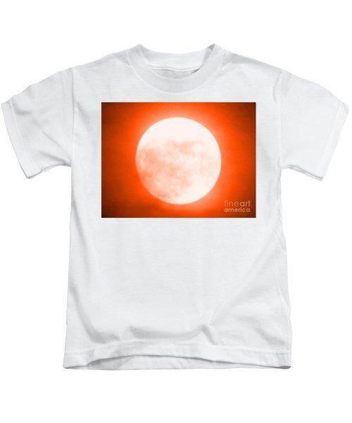Once In An Orange Moon Kids T-Shirt