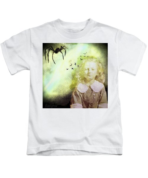 Once There Was A Spider Kids T-Shirt