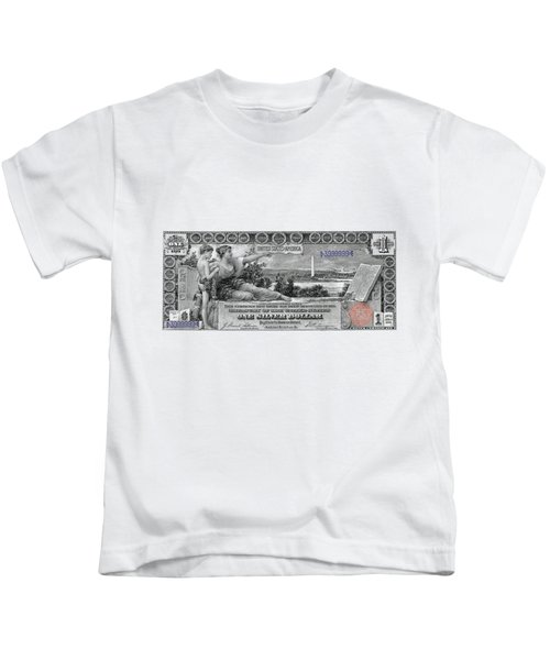 One Dollar Note - 1896 Educational Series  Kids T-Shirt