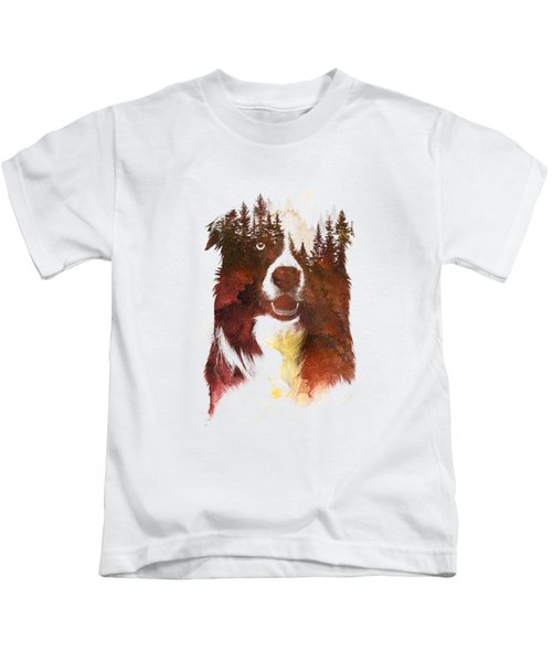 One Night In The Forest Kids T-Shirt