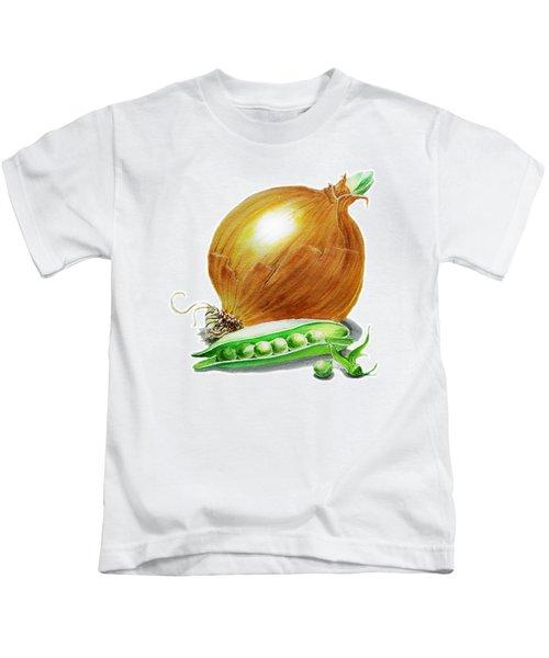 Onion And Peas Kids T-Shirt