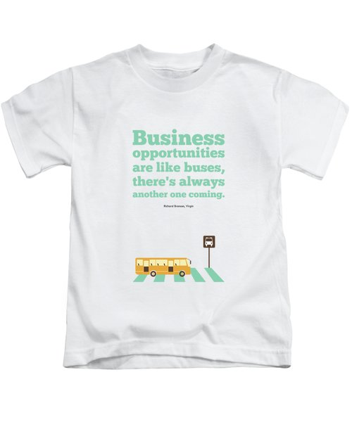 Opportunities Motivational Inspirational Typography Quotes Poster Kids T-Shirt