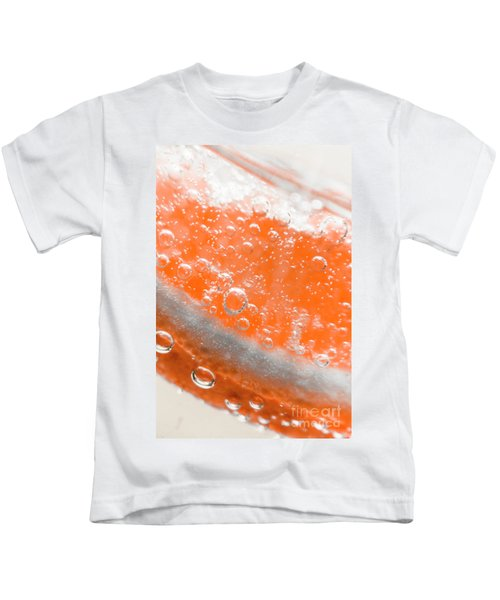 Orange Martini Cocktail Kids T-Shirt