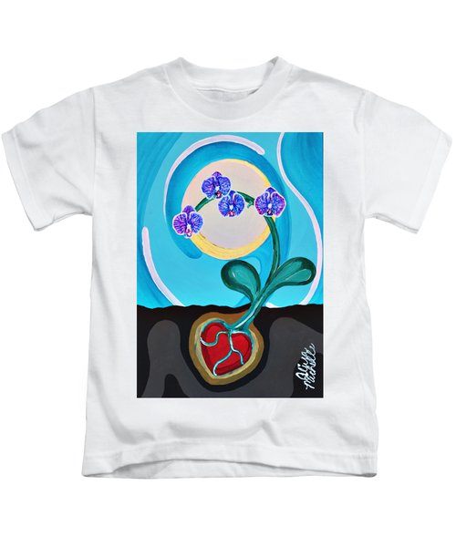 Orchids For My Love Kids T-Shirt