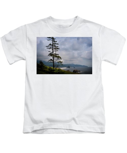 Oregon Ocean Vista Kids T-Shirt