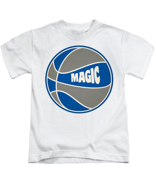 Orlando Magic Retro Shirt Kids T-Shirt by Joe Hamilton