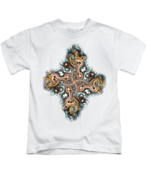 Ornate Cross Kids T-Shirt