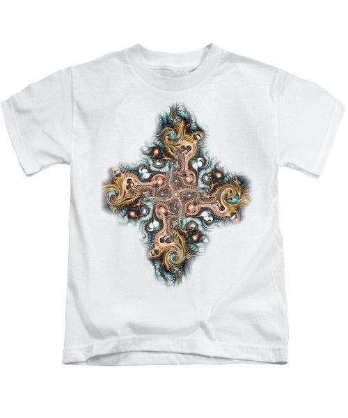 Ornate Cross Kids T-Shirt