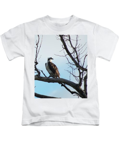 Osprey In Tree Kids T-Shirt