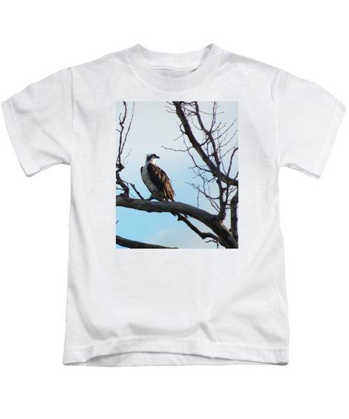 Osprey In Tree Kids T-Shirt