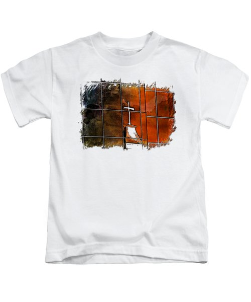 Our Father Earthy Rainbow 3 Dimensional Kids T-Shirt