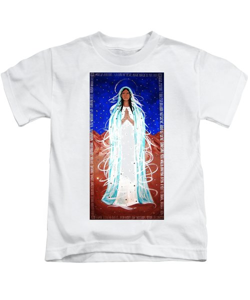 Our Lady Of Lucid Dreams Kids T-Shirt