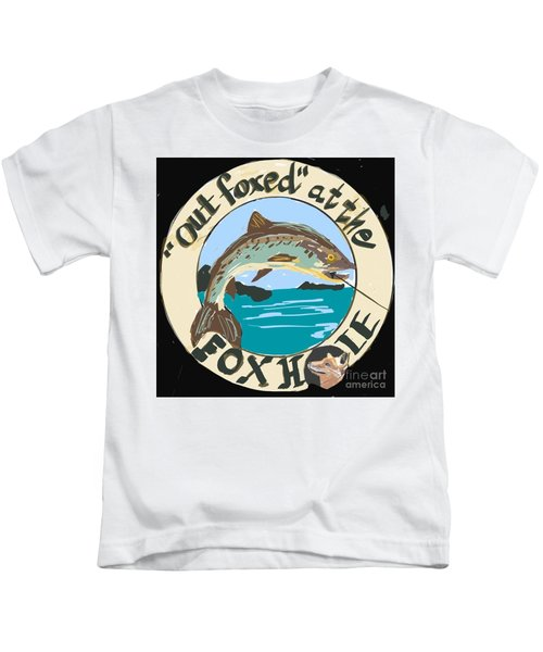Out Foxed Kids T-Shirt