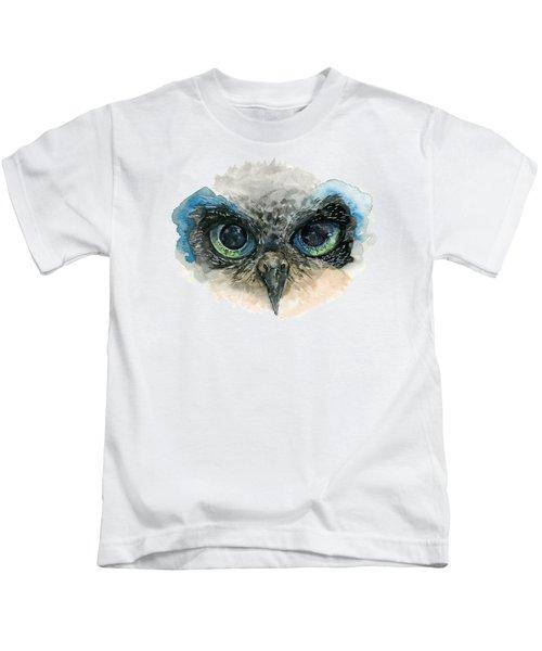 Owl Eyes Kids T-Shirt