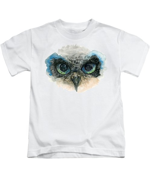 Owl Eyes Kids T-Shirt