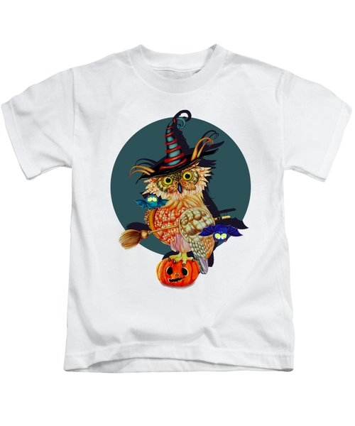 Owl Scary Kids T-Shirt